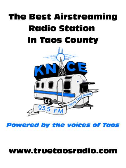 KNCE 93.5 FM Radio, Taos, NM