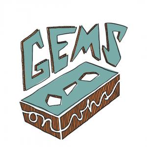Logo - GemsOnVHS